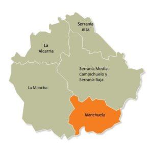 Las 5 comarcas conquenses