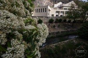 Teatro de Cuenca en el Huécar