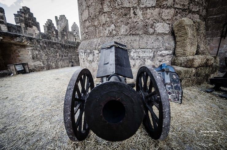 Armas en la jornada de Representación Histórica