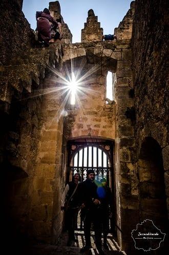 Recreacionistas en el Castillo de Belmonte