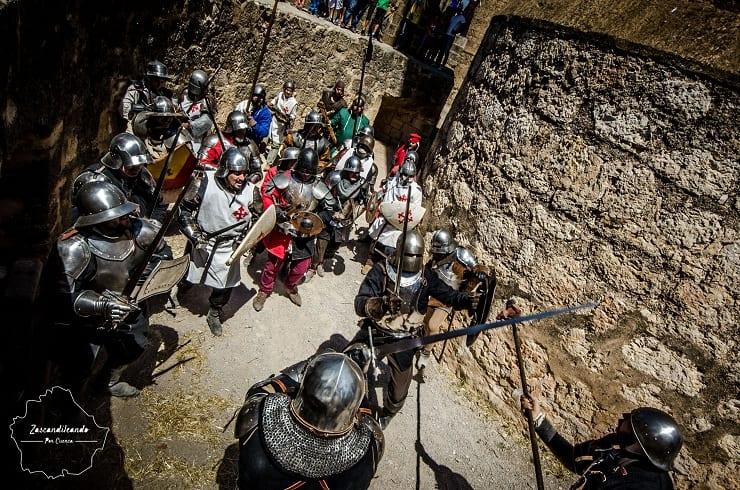 Peleas en el Castillo de Belmonte