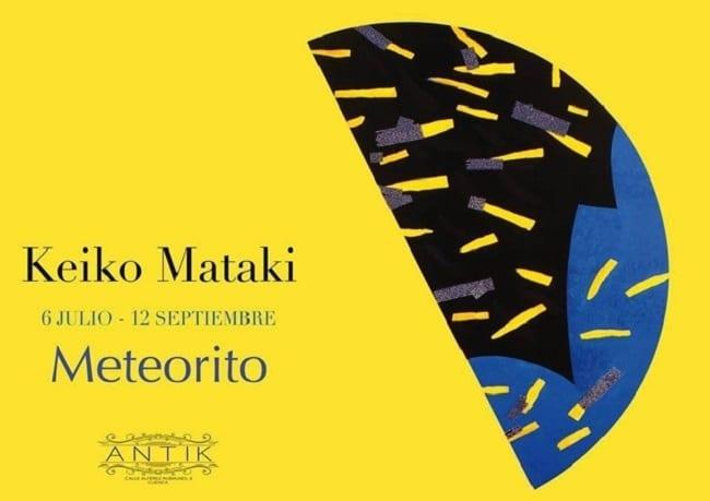 Keiko_Mataki_Meteorito_Cuenca