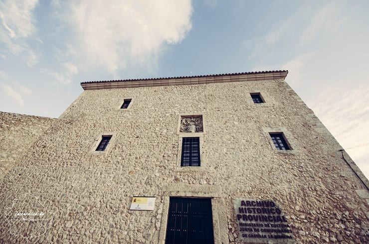 Fachada del Archivo Histórico Provincial de Cuenca