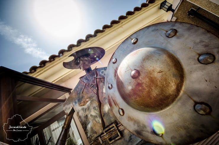 Don Quijote en el Hotel Arcas del Agua
