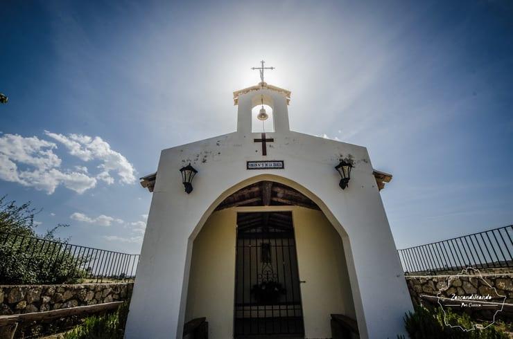 Ermita de la Virgen de la Zarza, Lagunaseca