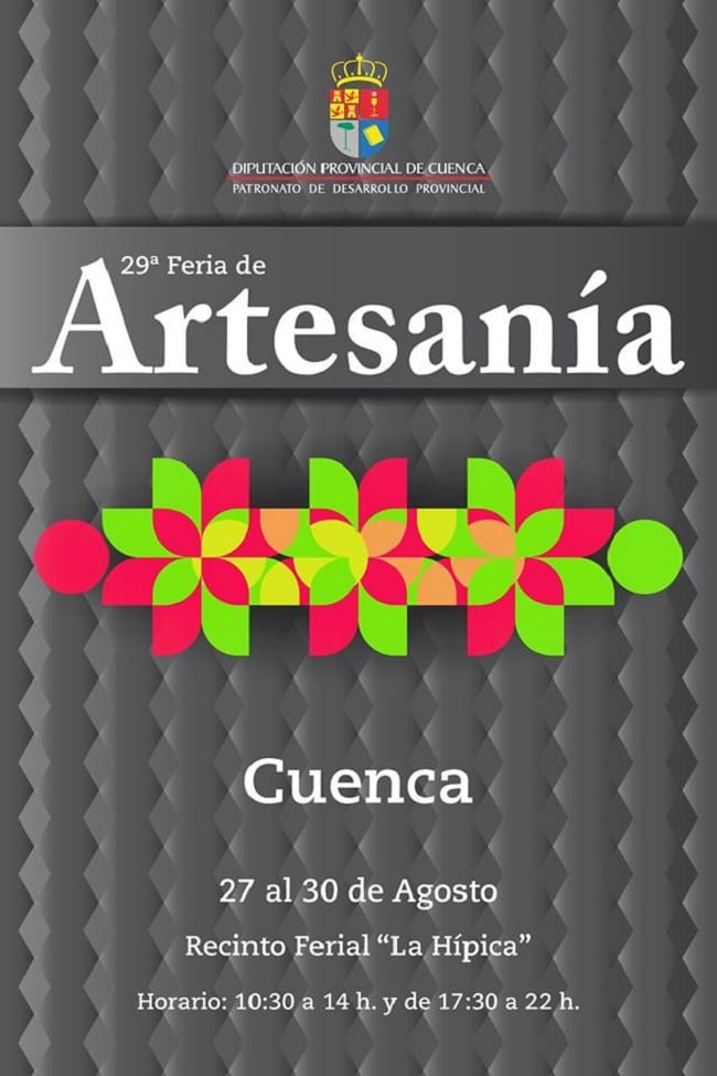 Cartel de la Feria de Artesania de Cuenca 2015