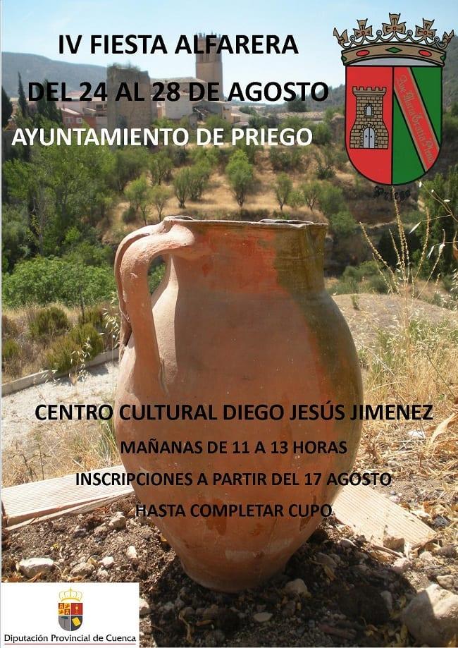 Cartel de la Fiesta Alfarera de Priego 2015
