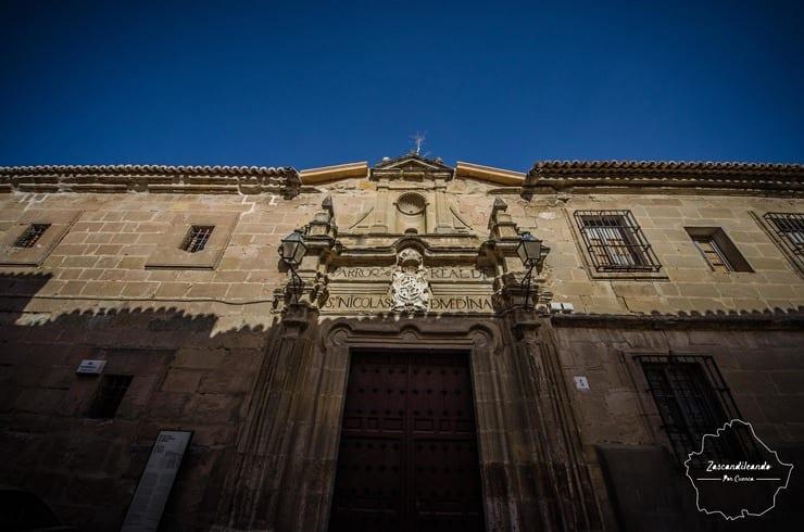 Fachada de la Iglesia de San Nicolás de Medina, Huete