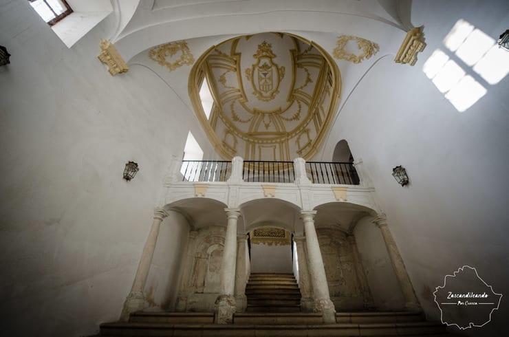 Interior de la iglesia de Santa María de la Merced