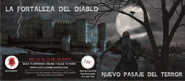 Pasaje del Terror en el Castillo de Belmonte
