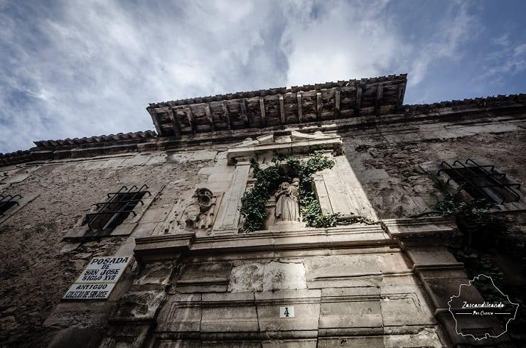 Fachada de la Posada de San José, en Cuenca