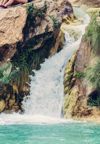 Salto de agua de en Las Chorreras