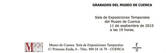 Grabados en el Museo de Cuenca