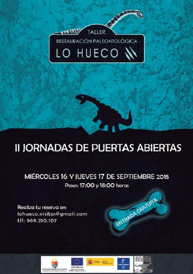 Taller restauración paleontolófica Lo Hueco
