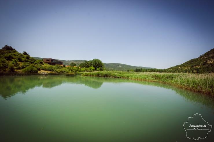 Panorámica de la Laguna de Uña