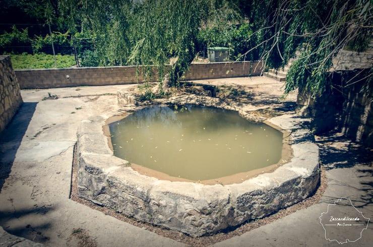 Monumental lavadero de Cuevas de Velasco, en la provincia de Cuenca