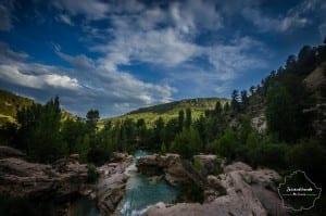 Vista de las Chorreras de Cuenca