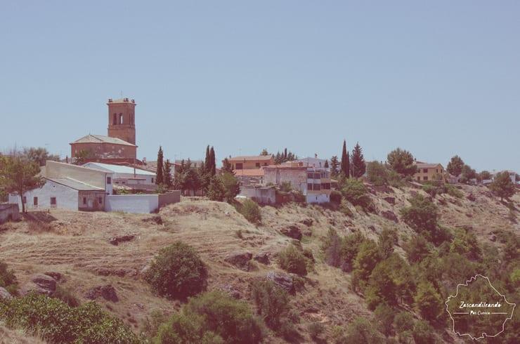 Panorámica de Cuevas de Velasco, pueblo de la Alcarria conquense