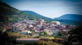 Panorámica del pueblo de Villar del Humo