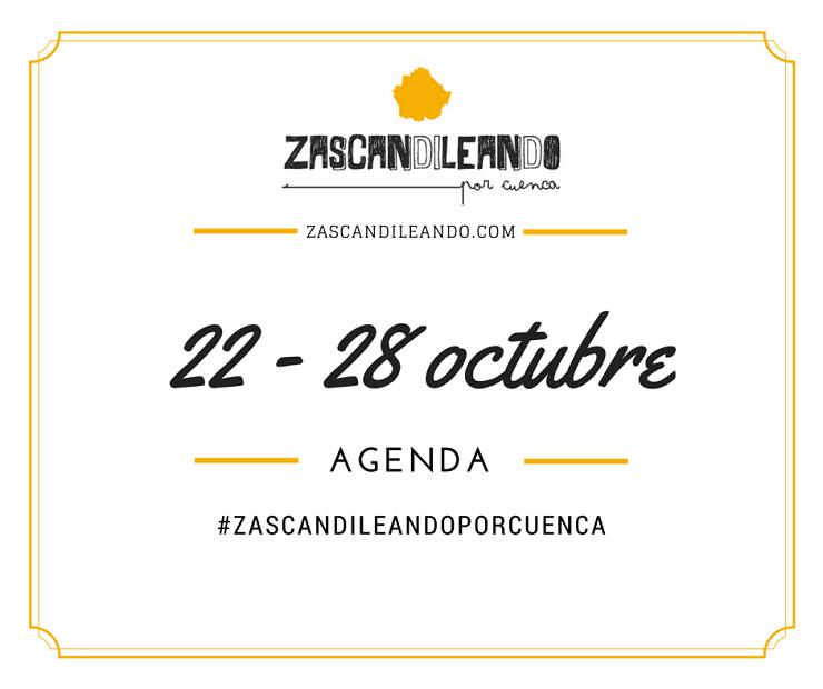 Agenda del 22 al 28 de octubre de 2015 en Cuenca