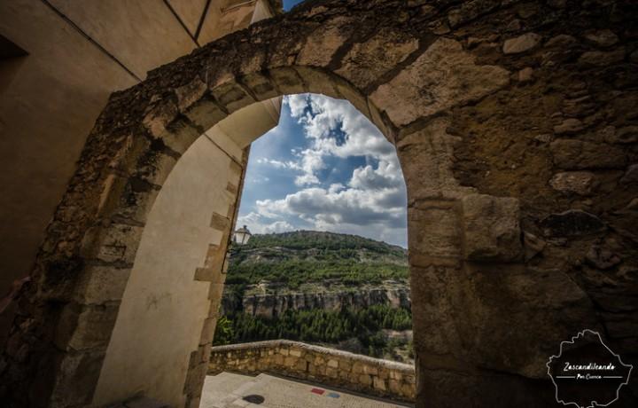 Arco de la Tabanqueta y mirador de Cuenca