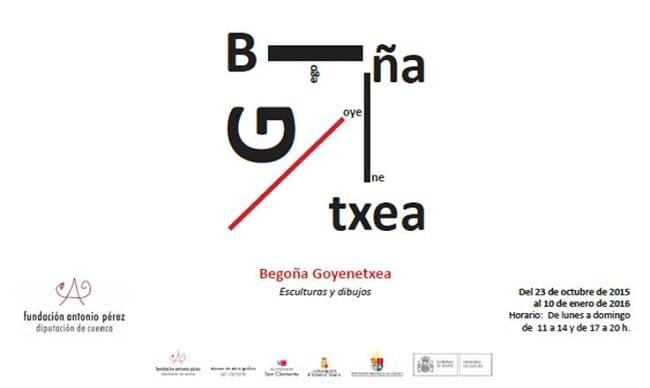Begoña_Goyenetxea, Exposición esculturas y dibujos