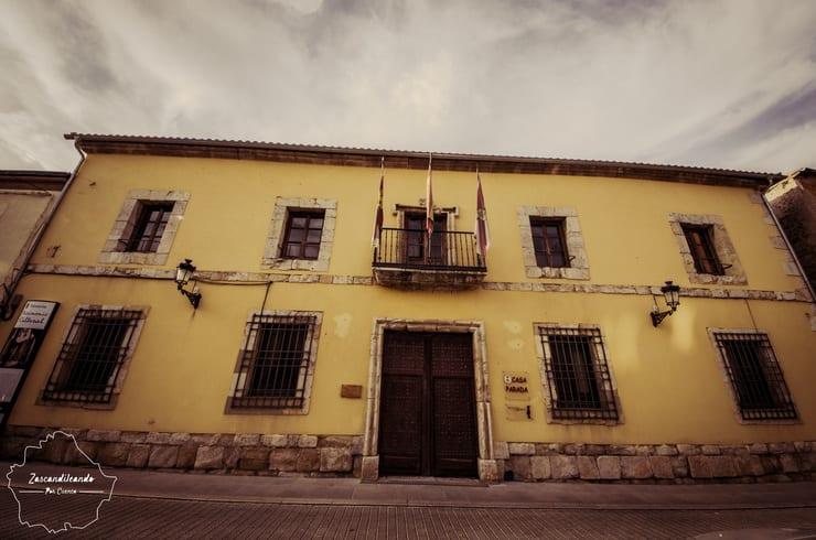 Fachada de la Casa Parada, en Tarancón