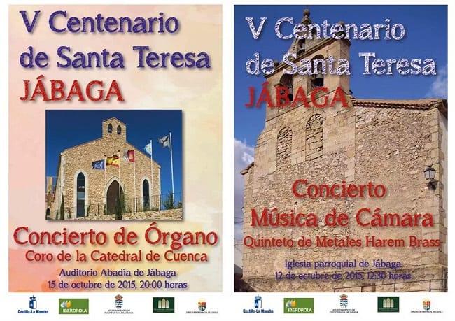 Conciertos en Jábaga, V centenario Santa Teresa