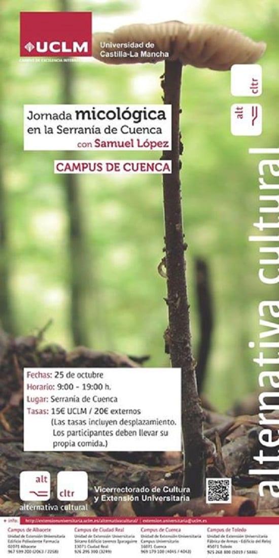 Jornada Micológica en la Serranía de Cuenca