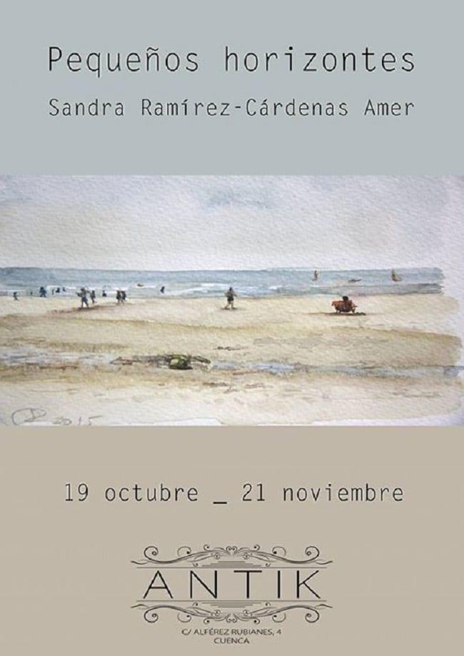 """Exposición """"Pequeños Horizontes"""" en Cuenca"""