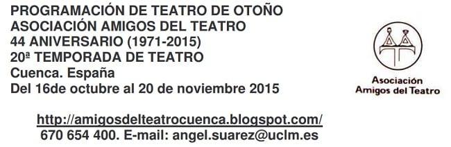 Teatro en Otoño, Cuenca 2015