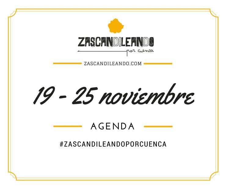 Agenda_19_25_noviembre_Zascandileando_Cuenca