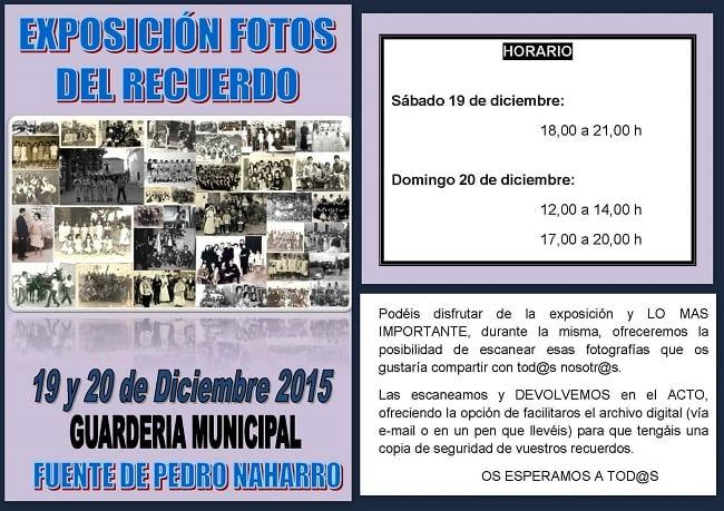 Exposición fotográfica en Pedro Naharros