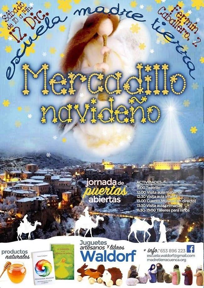 Mercadillo de Navidad en Cuenca, Escuela Madre Tierra