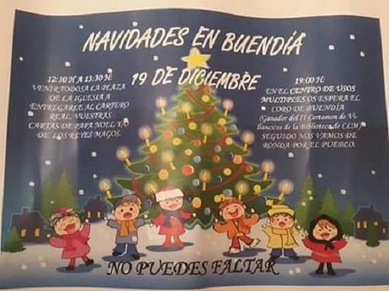 Actividades navideñas en Buendía
