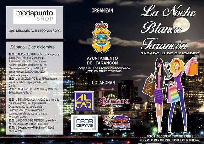 Actividades de la Noche en Blanco de Tarancón 2015