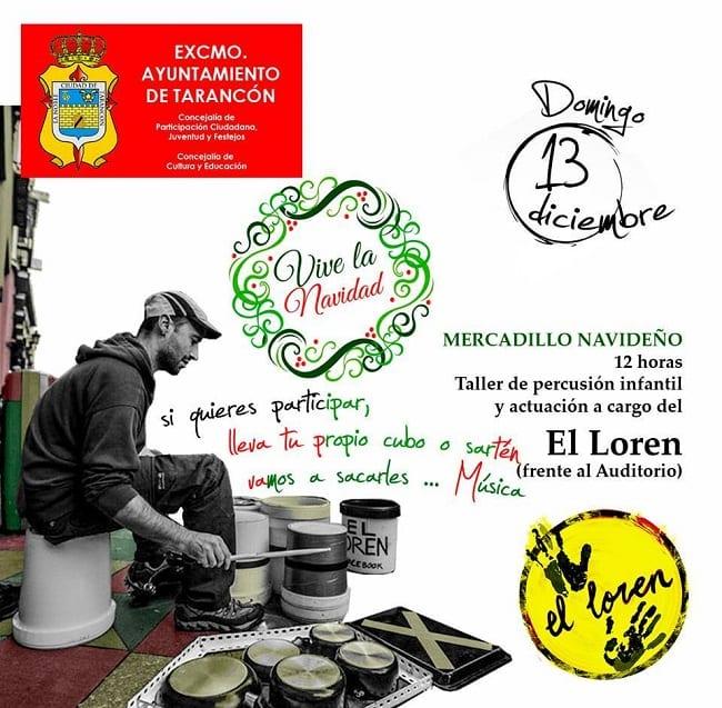Taller de Percusión de El Loren en Tarancón