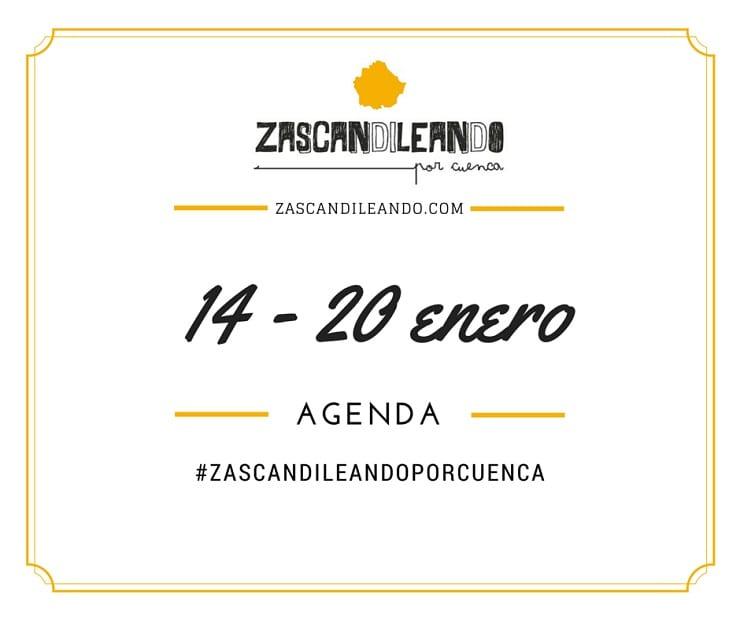 Agenda del 14 al 20 de enero de 2016 en Cuenca