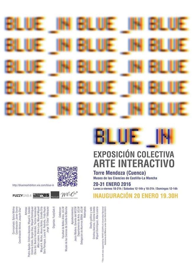 Exposicion Blue In en el Museo de las Ciencias de Castilla la Mancha