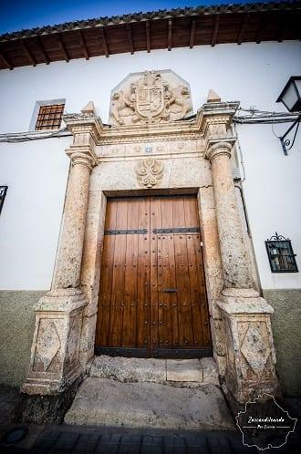Fachada de Villanueva de la Jara