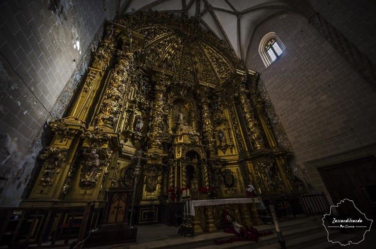 Retablo Mayor de Nuestra Señora de la Asunción, Villanueva de la Jara