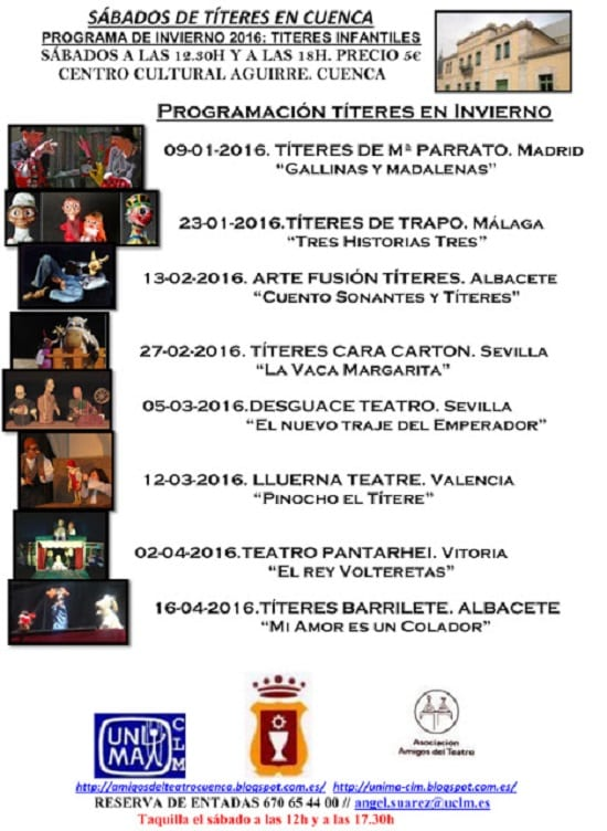 Sábados de Títeres en Cuenca