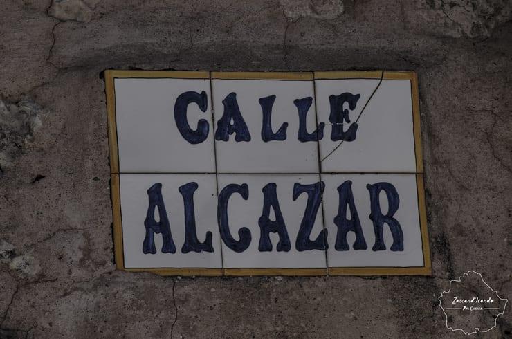 Calle Alcázar de Cuenca