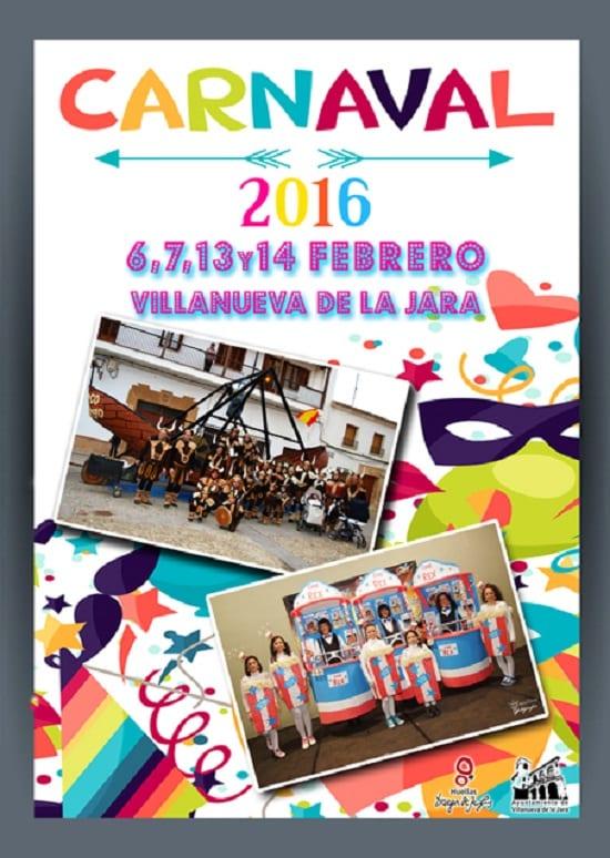 Carnavales 2016 en Villanueva de la Jara
