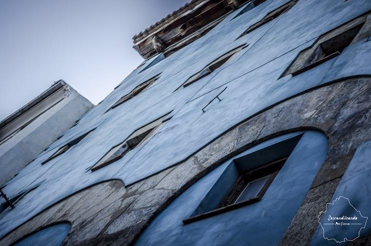 Casas de la calle Alfonso VIII de Cuenca