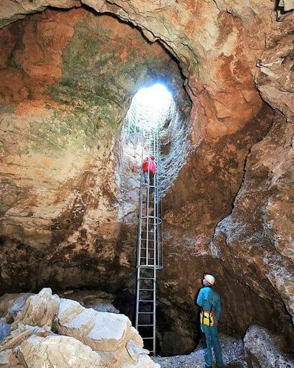 Entrada a la mina de Torralba