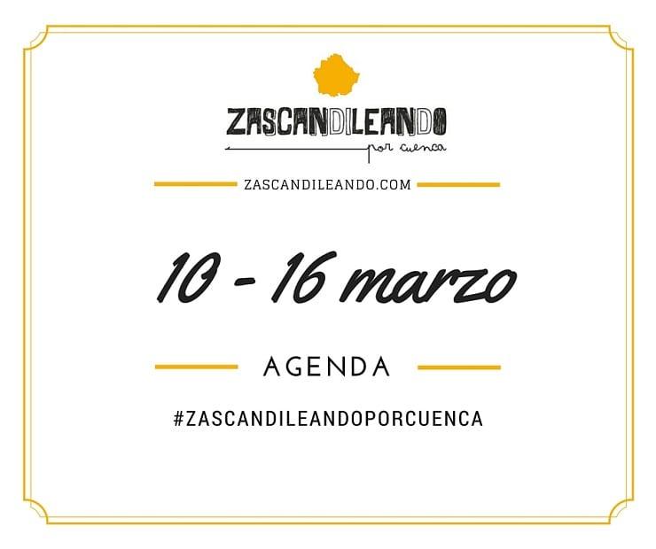 Agenda del 10 al 16 de marzo de 2016 en Cuenca