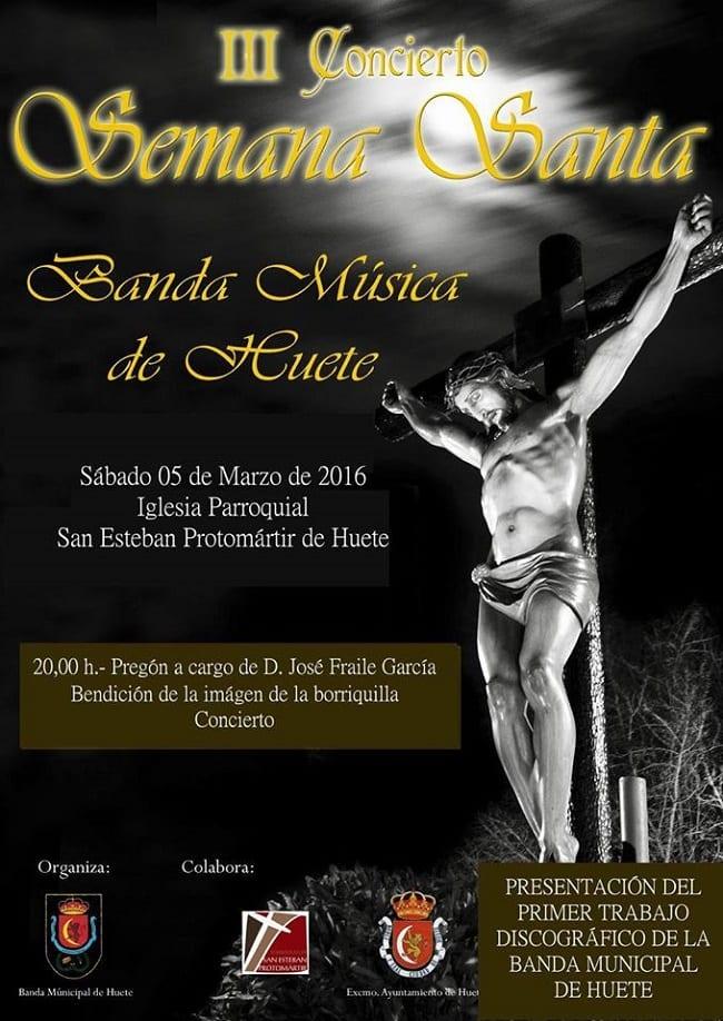 Concierto de Semana Santa Huete 2016