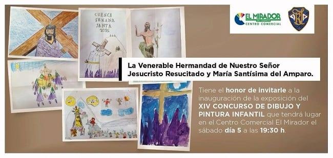 Concurso pintura infantil El Mirador Cuenca