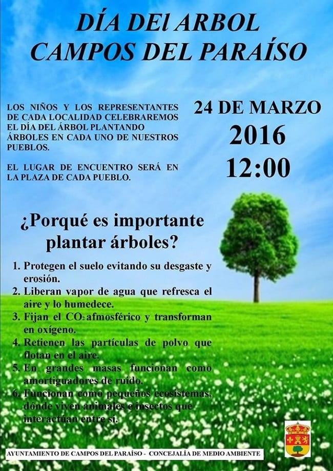 Día del árbol 2016 Campos del Paraíso, Cuenca
